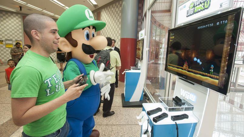 La Wii U de Nintendo va passer la barre du demi-million de ventes en France