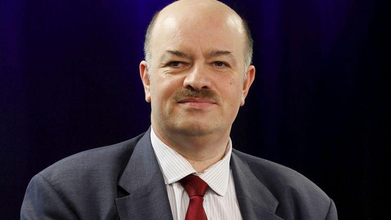 Alain Bauer dans les locaux du Figaro, en mars 2012.
