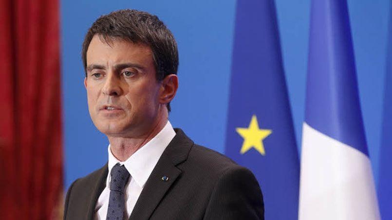 Le premier ministre Manuel Valls. ©Jean-Christophe MARMARA / Le Figaro