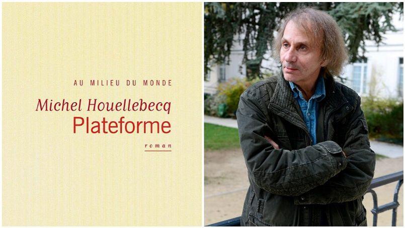 Michel Houellebecq a publié son livre Plateforme en 2001, qui était déjà source de quelques polémiques.