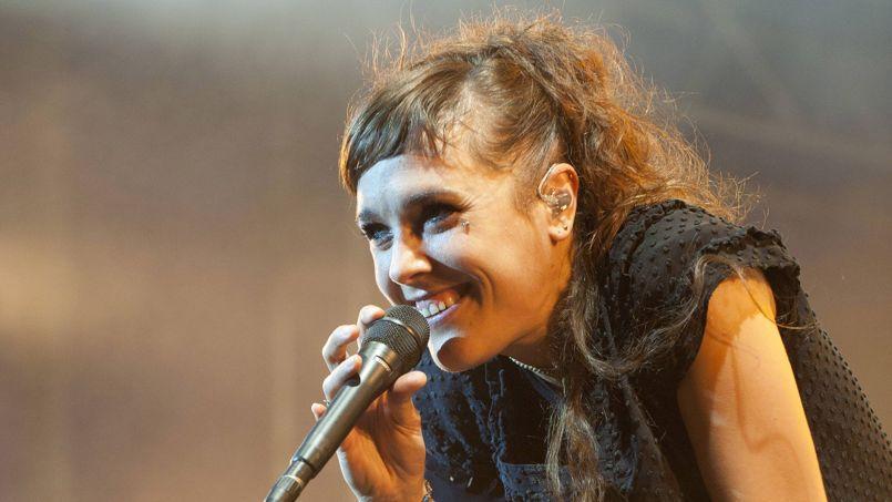 Zaz en concert a Munich le 29 juin 2011.