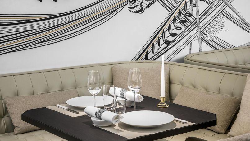 Hexagone, le nouveau restaurant du triple étoilé Mathieu Pacaud.