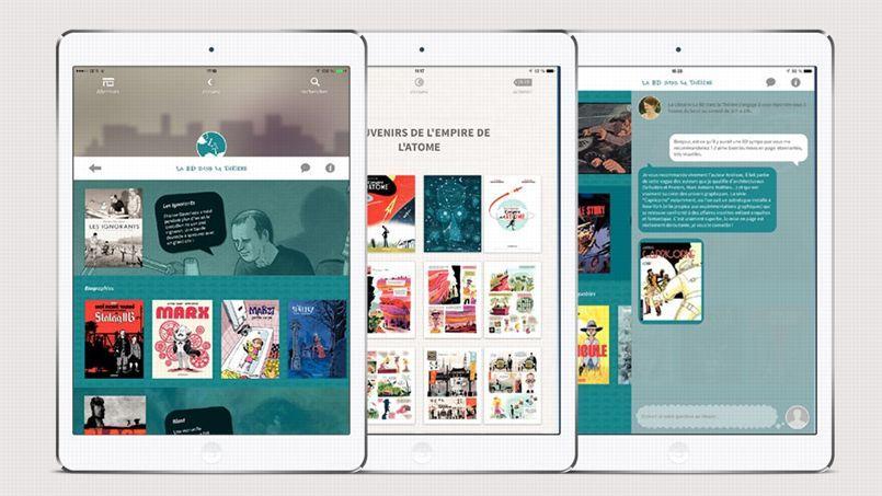 BD numérique: une application remet les librairies au premier plan