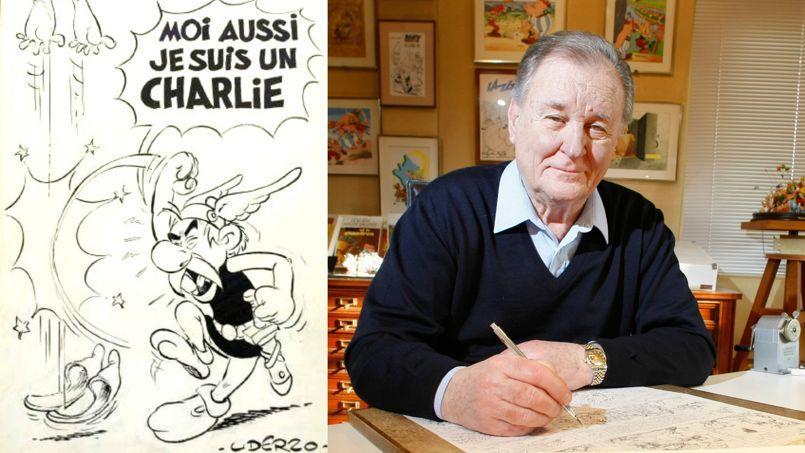 Albert Uderzo: «Comme Astérix, je suis un Charlie!»