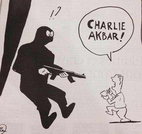 Dessin réalisé par Willem, dessinateur de Charlie Hebdo.