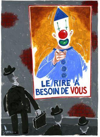 Dessin réalisé par Al Coutelis pour Le Figaro.