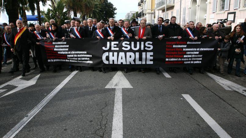 Marche citoyenne à Nice en hommage aux victimes du terrorisme