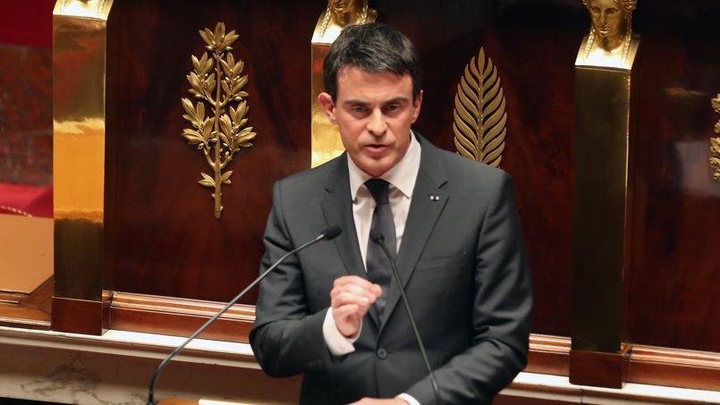 Manuel Valls a récolté quatre standing ovations lors de son discours, mardi à l'Assemblée.