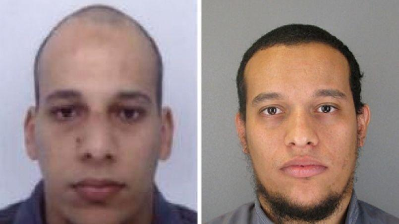 Les frères Kouachi, responsables de l'attaque de Charlie Hebdo, mercredi dernier
