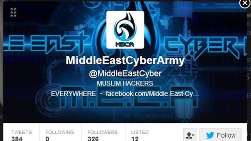 Des hackers de la Middle East Cyber Army sont très actifs sur le Web et sur Twitter.