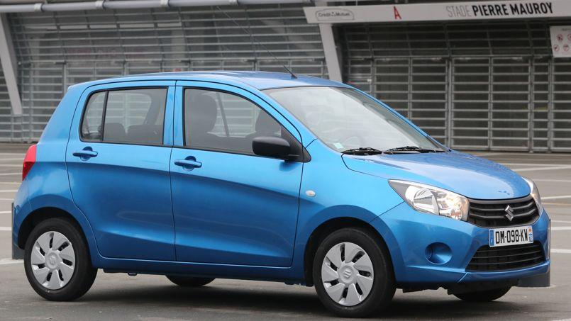 suzuki celerio le maximum pour le minimum
