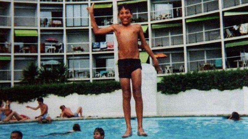 Le Spiegel a publié une photo de Chérif Kouachi en vacances à la Grande Motte en 1994.
