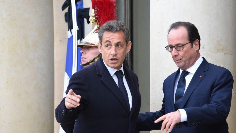 Nicolas Sarkozy mise sur l'international pour critiquer François Hollande