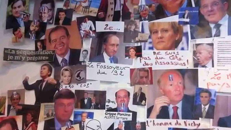 Un «mur des cons», représentant différentes personnalités, avait été découvert en avril 2013 dans les locaux du Syndicat de la magistrature.