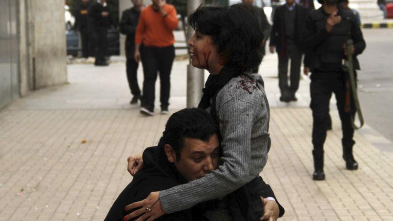 Shaimaa al-Sabbagh, abattue lors d'une manifestation au Caire samedi.