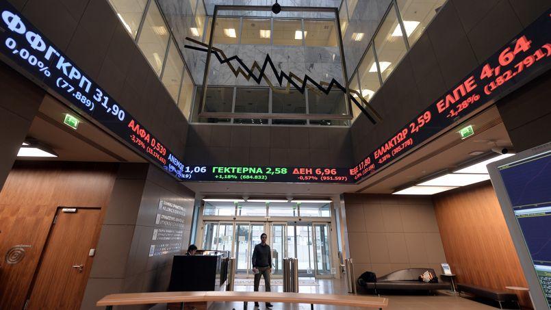 Grèce : les marchés craignent une restructuration de la dette qui ferait contagion