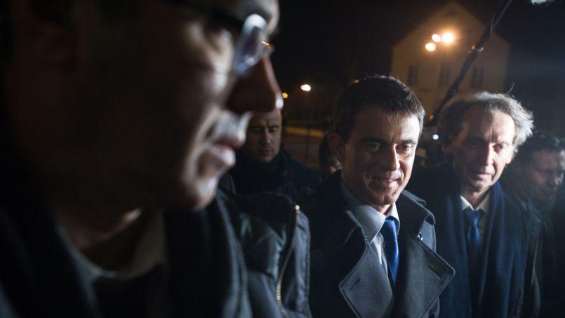 Dans le Doubs, la CGT coupe le courant du meeting de Manuel Valls