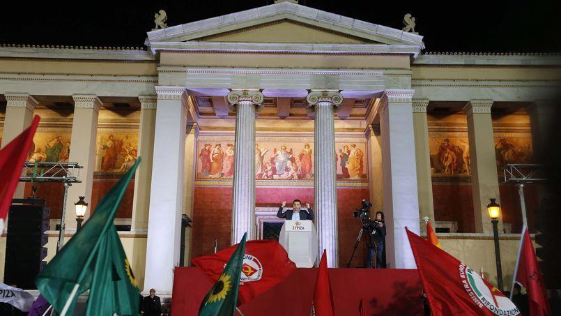 Election du nouveau premier ministre en Grèce, Alexis Tsipras