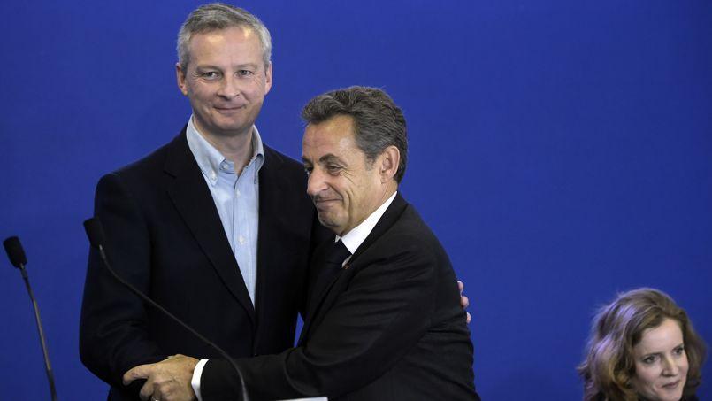 Sur le site de l'UMP, Le Maire réapparaît sur la photo de Sarkozy et Merkel