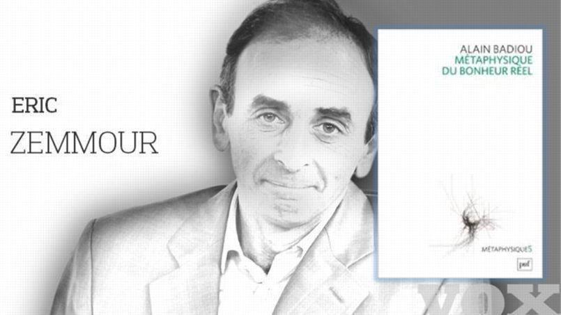 Alain Badiou vu par Éric Zemmour