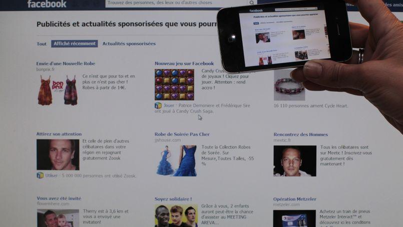 La migration du trafic des réseaux sociaux du fixe vers le mobile a dopé la publicité sur smartphones.