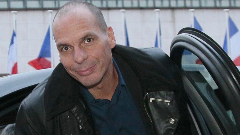 Le ministre grec des Finances, Yanis Vafourakis, lors de son arrivée à Bercy, le 1er février pour sa rencontre avec son homologue français, Michel Sapin.