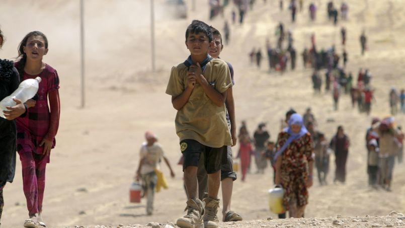 Des enfants appartenant à la communauté Yazidi ou à la communauté chrétienne font partie des victimes, assure le Comité des droits de l'enfant. (Photo d'illustration)