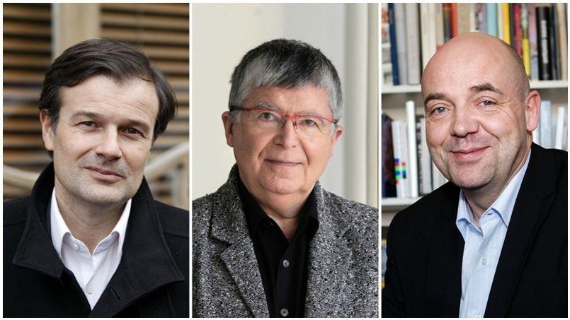 Olivier Mantei, Jean-Luc Choplin, Fabrice Hergott s'efforcent de trouver des solutions face aux restrictions budgétaires.