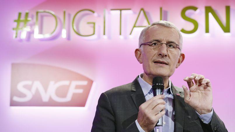 Guillaume Pepy, PDG de la SNCF.