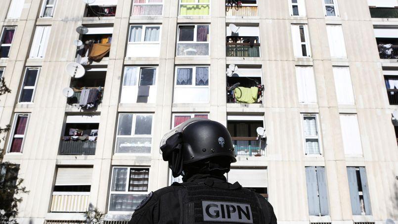 Le GIPN a dû intervenir dans la cité marseillaise la Castellane après un échange de tirs de kalachnikovs.