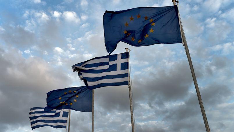 La crainte d'un éclatement de la zone euro plane depuis le début de la crise grecque, en 2010 (Crédit: Aris MESSINIS/AFP)