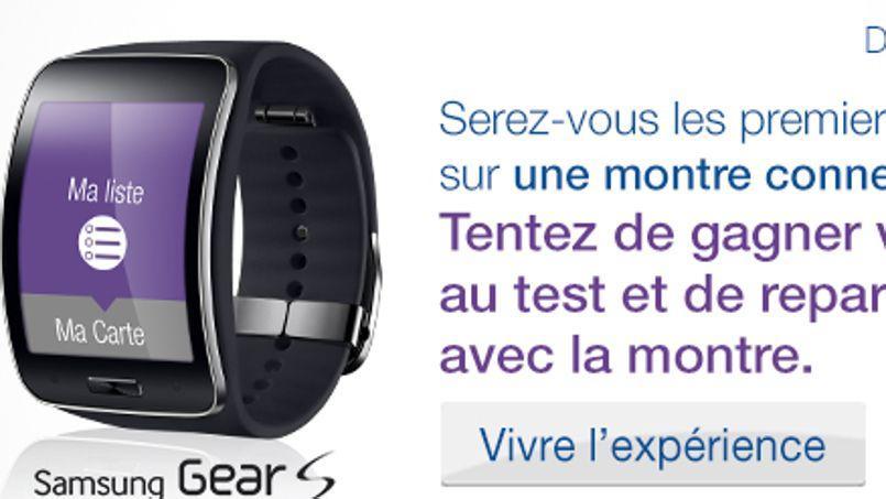 Carrefour teste la liste de courses sur une montre connectée