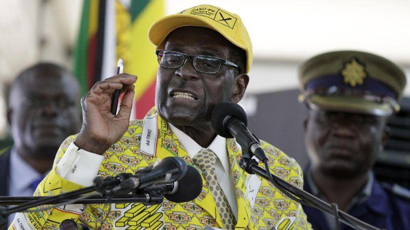 Robert Mugabe, ici en décembre 2014.
