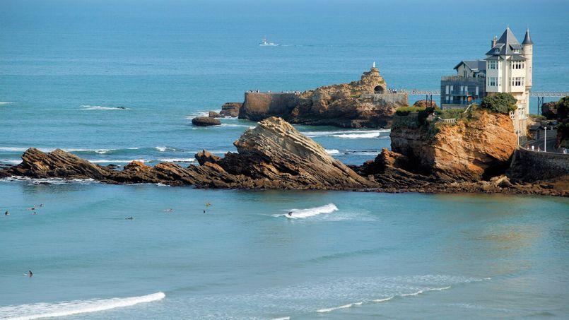 La Côte des Basques, à Biarritz. (Le Doaré pour Biarritz Tourisme )