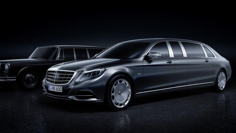 mercedes maybach pullman une limousine hors norme. Black Bedroom Furniture Sets. Home Design Ideas