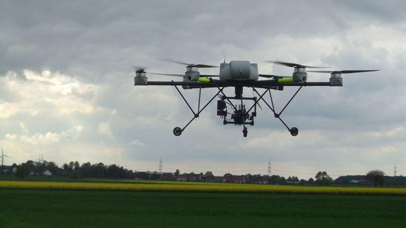 Les drones sont en vedette au Salon de l'agriculture.