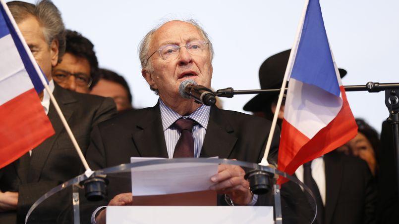 Roger Cukierman, président du CRIF