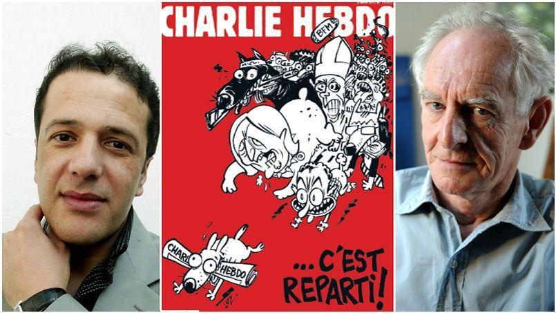 Ali Dilem et René Pétillon ont rejoint l'équipe de Charlie Hebdo.