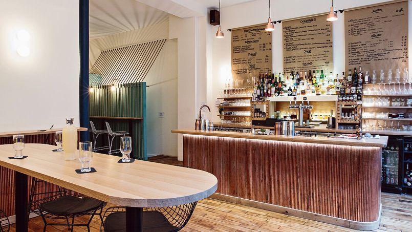 CopperBay (Xe), un nouveau bar à cocktails à la fois pointu, élégant et décontracté.
