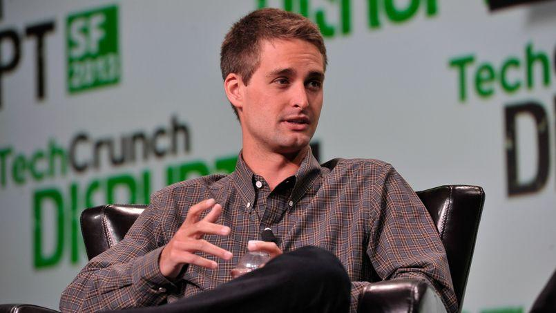 Evan Spiegel, PDG de Snapchat, au TechCrunch Disrupt 2013, via Flickr.