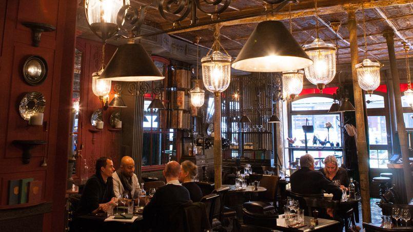 Les nouveaux restaurants des faubourgs poissonni re et for Ancienne maison gradelle