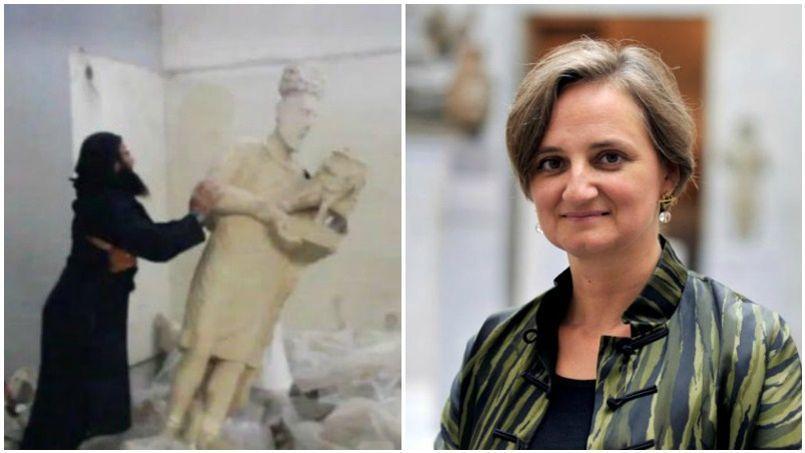 Du musée des arts asiatiques de Paris, sa présidente Sophie Makariou fait part de son écœurement. Réagissant à un film de propagande de Daech montrant des statues antiques abattues à coups de massues, cette scientifique rappelle avec d'autres que «l'Islamisme c'est la mort de l'Islam».