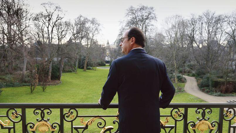 François Hollande (ici, à l'Élysée mardi) entame jeudi une visite aux Philippines, l'un des pays les plus touchés par les conséquences du réchauffement climatique.