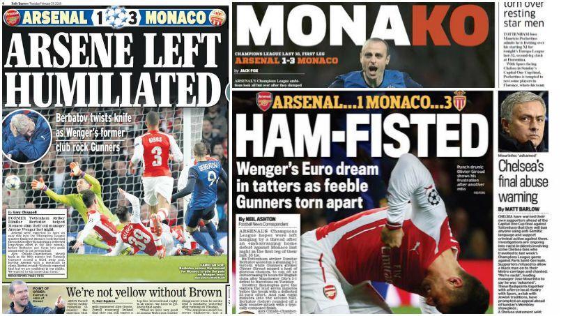 La presse britannique se déchaîne contre Wenger et Arsenal
