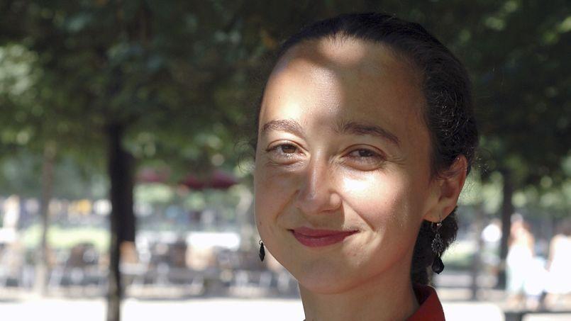 Muriel Barbery en janvier 2015.