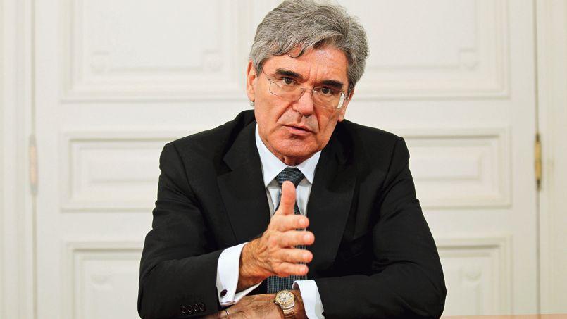 Joe Kaeser, président du directoire de Siemens. Crédit: Jean-Christophe Marmara/Le Figaro