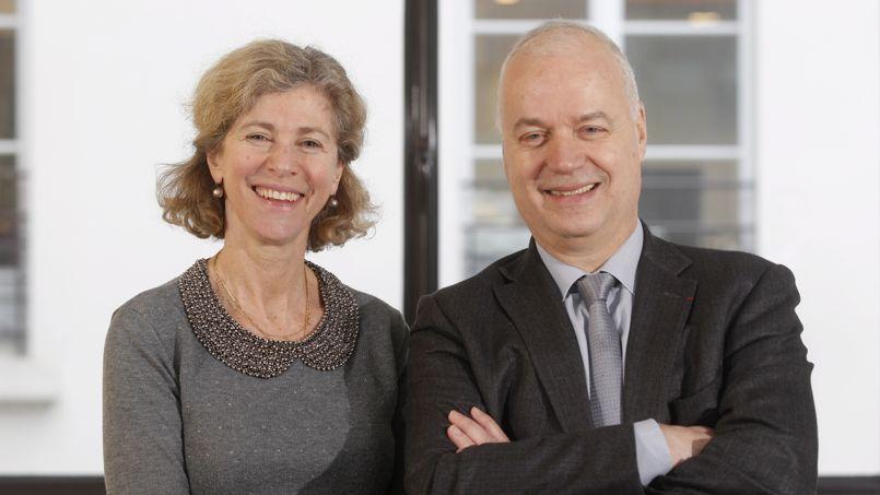 Sandra Enlart et Bruno Mettling plaident pour que les entreprises privilégient le long terme.