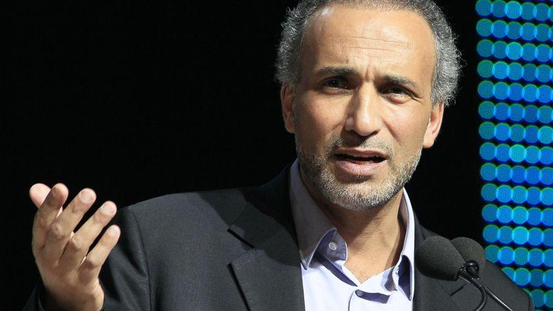 Tariq Ramadan à une conférence près de Paris en avril 2012.