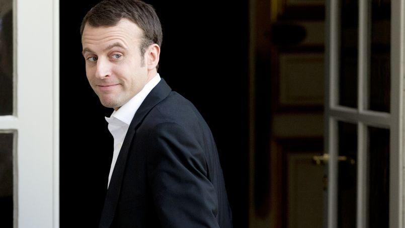Le ministre de l'Économie Emmanuel Macron en mars 2015.