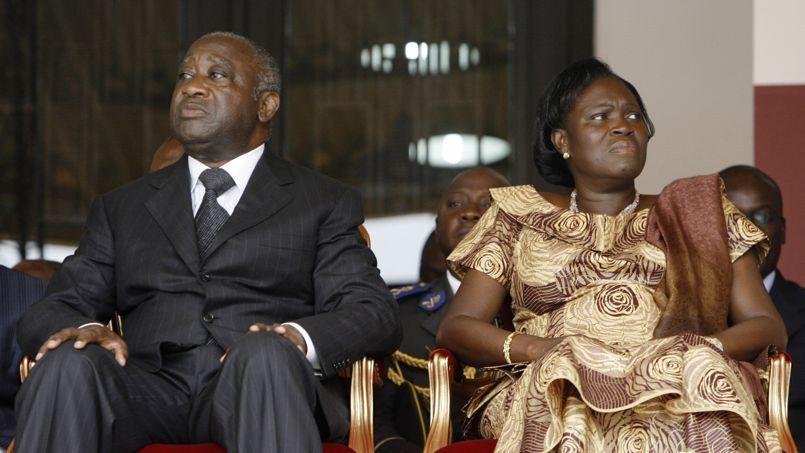 """laurent gbagbo et sa femme"""